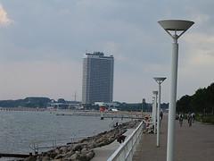 Hochhaus an der Travemünder Küste!